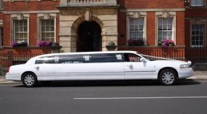 Select Limos wedding 8 passenger limousine
