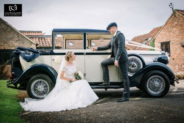 Harriet 6 passenger vintage style 1920s wedding car
