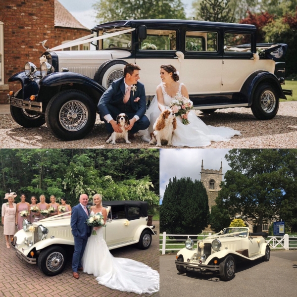 Bramwith and Beauford wedding cars