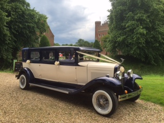 Select Limos  Harvey our 7 passenger 1930's style wedding car