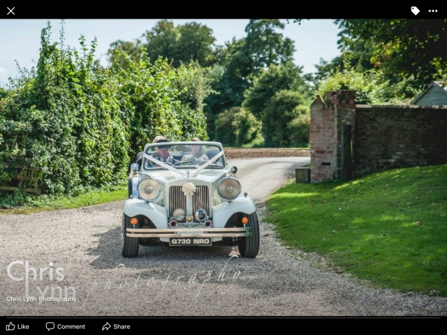 Select Limos 1930's style Beauford at Hall Farm near Grimsby