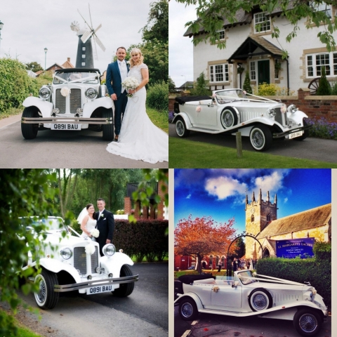 Select Limos white vintage style Beauford