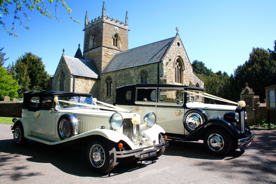 Select Limos Henrietta 6 passenger Vintage wedding cars