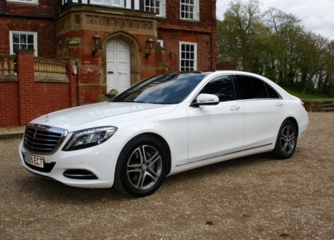 Select Limos Mercedes S Class LWB saloon car