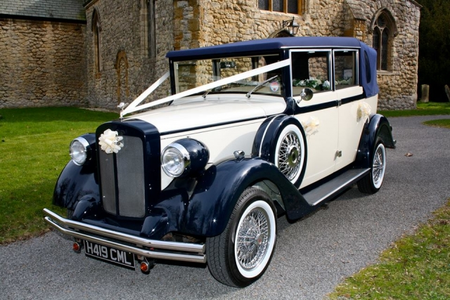 Harriet 1920 style Regent wedding car