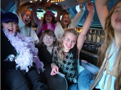 Select LimoS children's party limousine