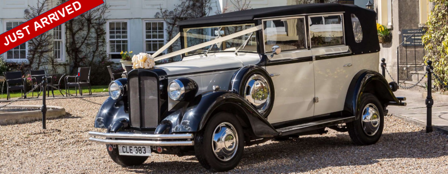 Select Limos 1920's style Regent wedding car