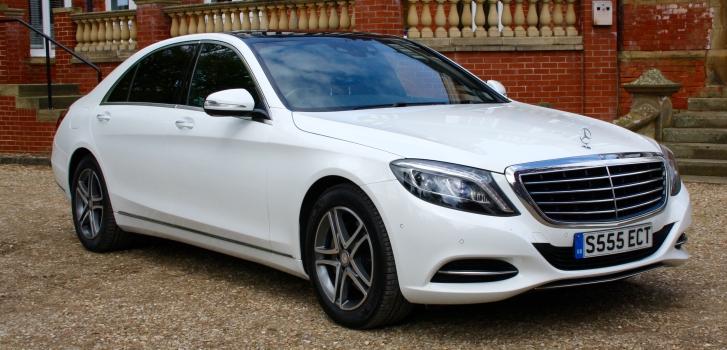 Select Limos Mercedes Executive saloon