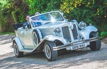 Bella our 1930's white Beauford