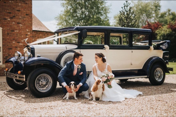 Harvey 1930's style wedding car